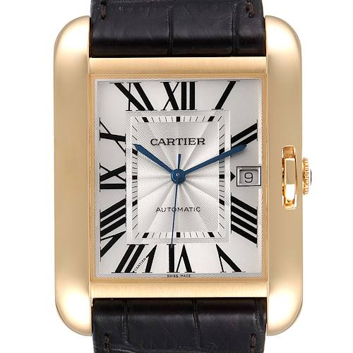 Photo of Cartier Tank Anglaise XL Yellow Gold Mens Watch W5310032