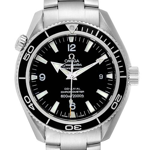 Photo of Omega Seamaster Planet Ocean 42 Co-Axial Mens Watch 2201.50.00 Box Card