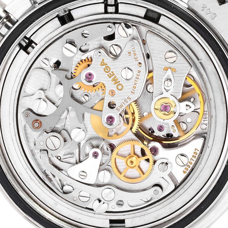 Omega Speedmaster Chronograph Black Dial Mens MoonWatch 3570.50.00 SwissWatchExpo