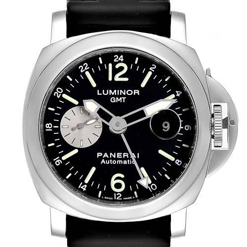 Photo of Panerai Luminor GMT Black Strap Automatic Mens Watch PAM00088