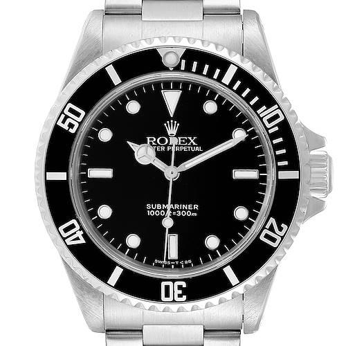 Photo of Rolex Submariner 40mm Non-Date 2 Liner Tritium Steel Mens Watch 14060