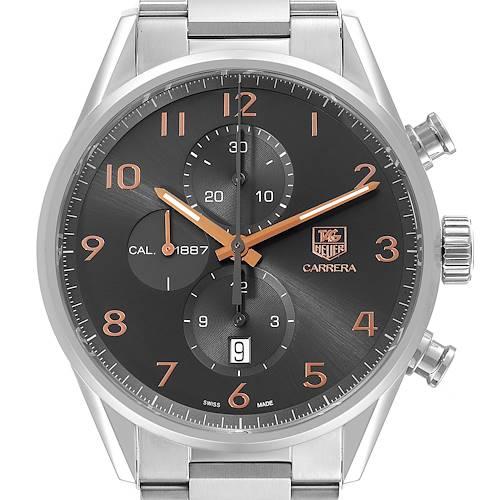 Photo of Tag Heuer Carrera 1887 Grey Dial Chronograph Mens Watch CAR2013