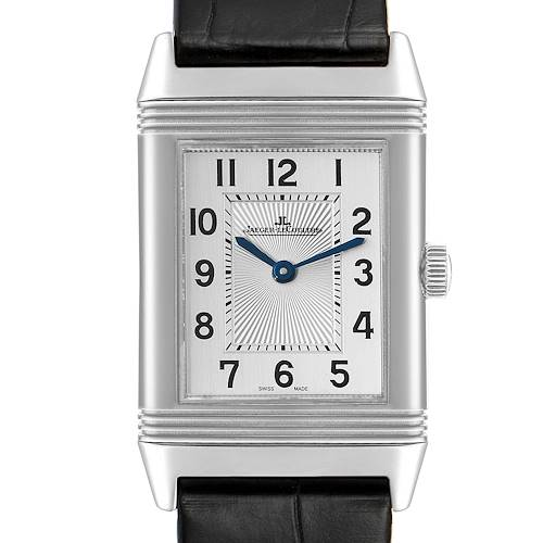 Photo of Jaeger LeCoultre Reverso Classic Silver Dial Mens Watch Q2548520 Card