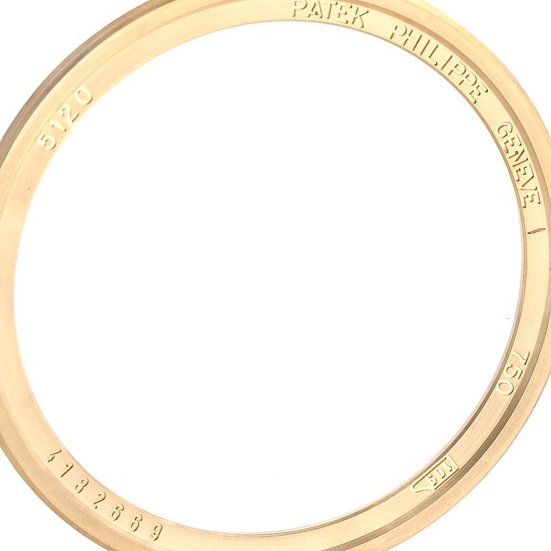 Patek Philippe Calatrava Yellow Gold Automatic Mens Watch 5120 SwissWatchExpo