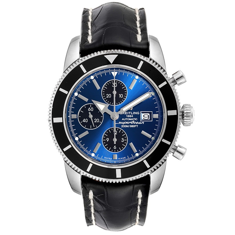 Breitling SuperOcean Heritage Chrono 46 Watch A13320 Box Papers SwissWatchExpo