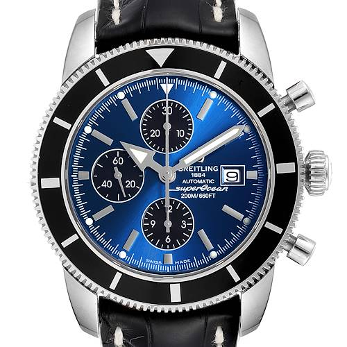 Photo of Breitling SuperOcean Heritage Chrono 46 Watch A13320 Box Papers