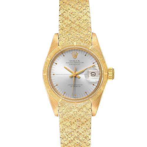 Photo of Rolex President Datejust Yellow Gold Ladies Watch 6900