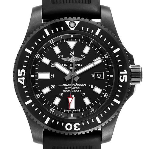 Photo of Breitling Superocean 44 Special Blacksteel Mens Watch M17393 Box Card