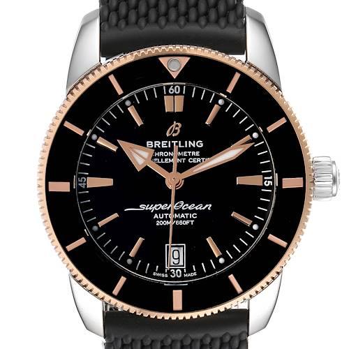 Photo of Breitling Superocean Heritage II 42 Steel Rose Gold Watch UB2010 Box Papers
