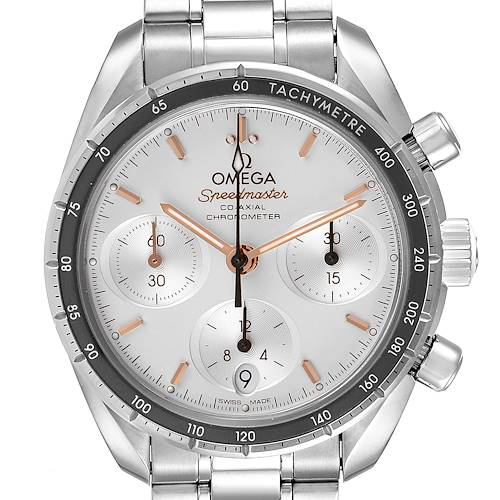 Photo of Omega Speedmaster 38 Co-Axial Chronograph Watch 324.30.38.50.02.001 Box Card