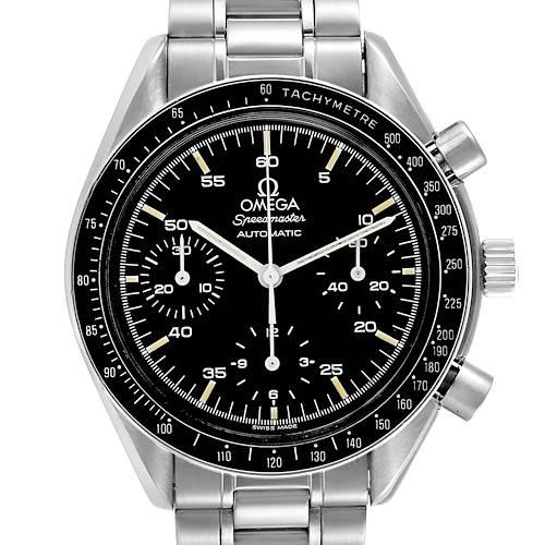 Photo of Omega Speedmaster Reduced Hesalite Cronograph Steel Mens Watch 3510.50.00