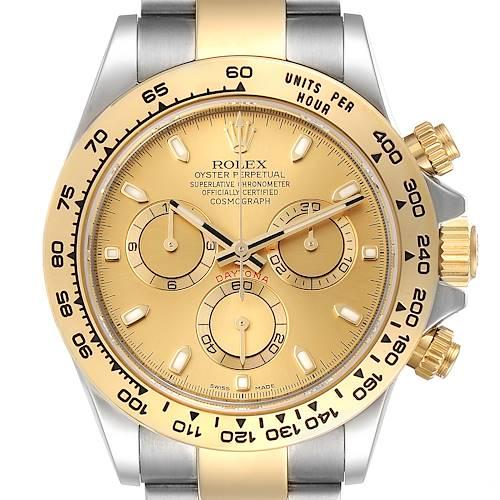Photo of Rolex Cosmograph Daytona Steel Yellow Gold Mens Watch 116503 Unworn
