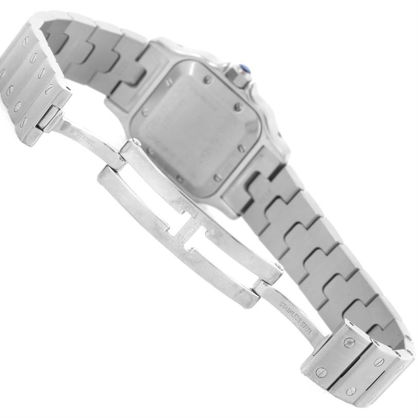 9052 Cartier Santos Galbee Ladies Stainless Steel Automatic Watch W20054D6 SwissWatchExpo