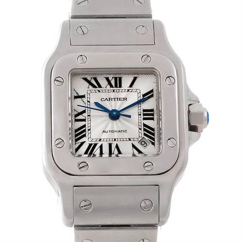 Photo of Cartier Santos Galbee Ladies Steel Automatic Watch W20054D6