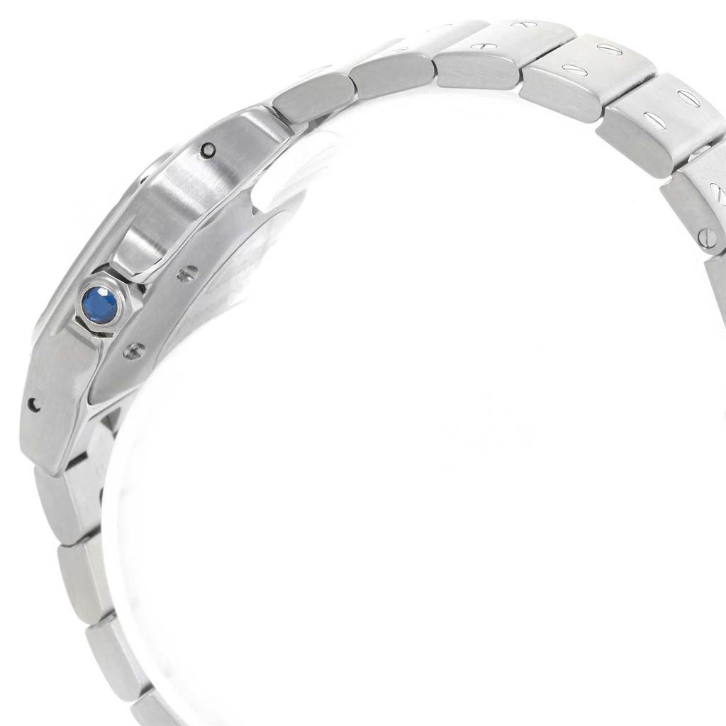 Cartier Santos Galbee Ladies Stainless Steel Automatic Watch W20044D6 SwissWatchExpo