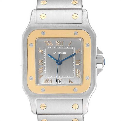 Photo of Cartier Santos Galbee Large Steel Yellow Gold Unisex Watch 1566