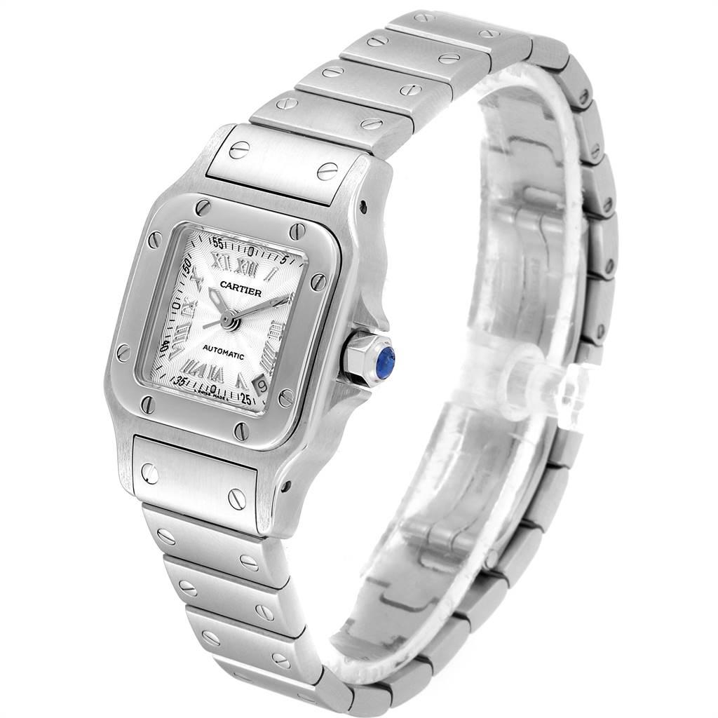 24641 Cartier Santos Galbee Ladies Automatic Steel Ladies Watch W20044D6 SwissWatchExpo