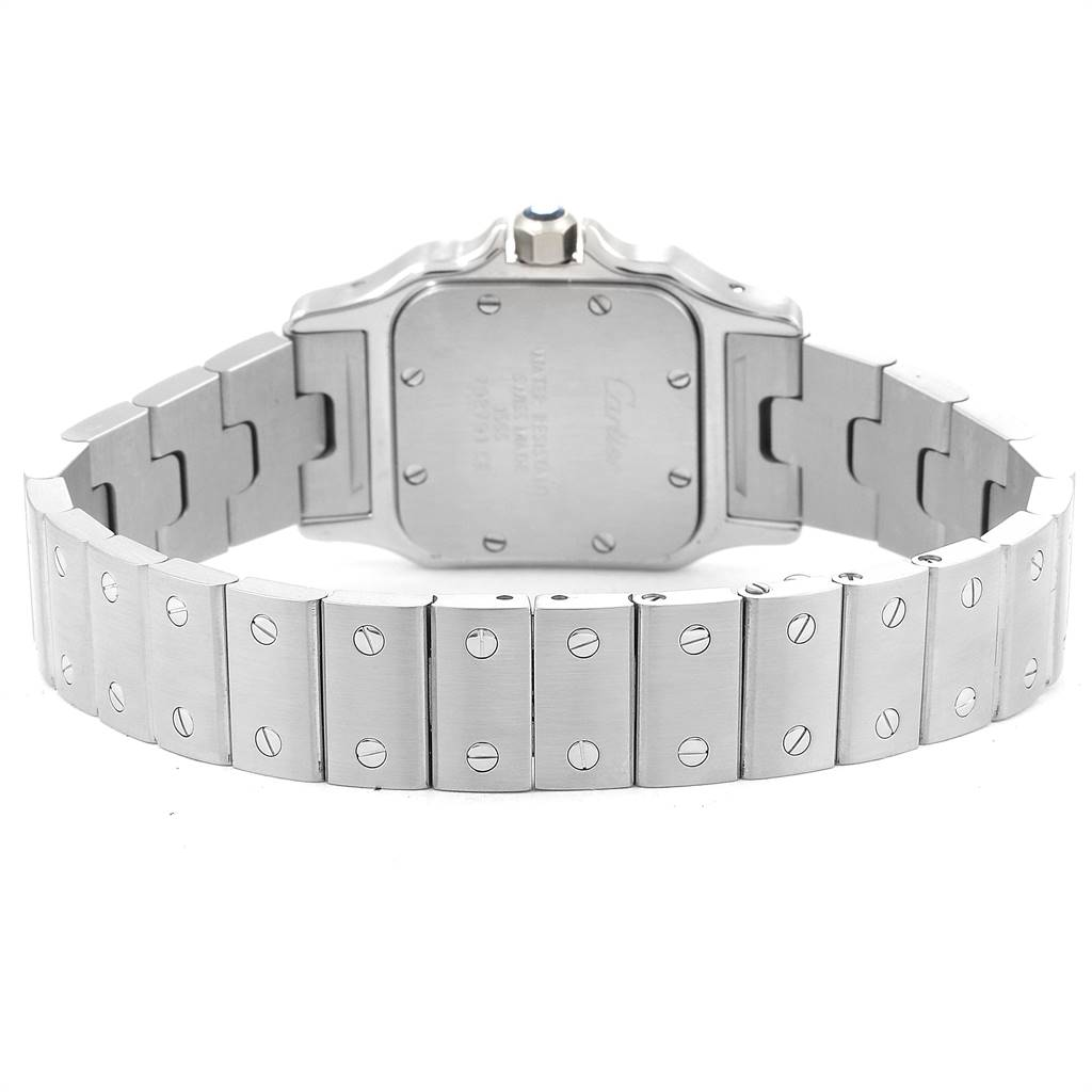 24914 Cartier Santos Galbee Small Steel Ladies Watch W20056D6 SwissWatchExpo