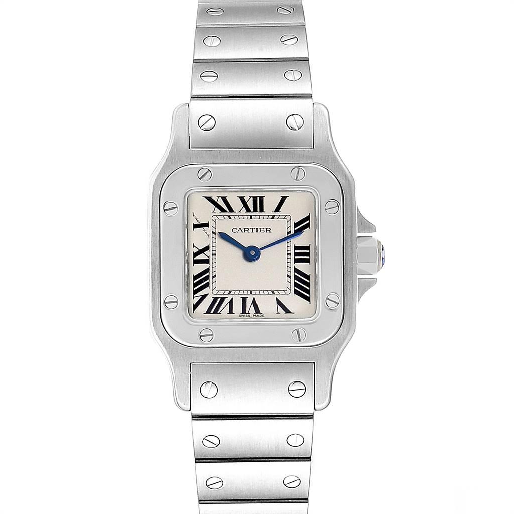 Photo of Cartier Santos Galbee Blue Hands Steel Ladies Watch W20056D6