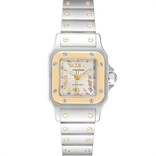Photo of Cartier Santos Small Steel Yellow Gold Automatic Ladies Watch W20057C4