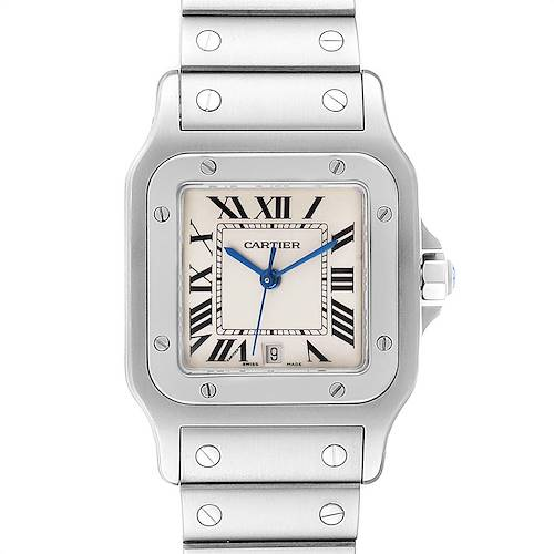 Photo of Cartier Santos Galbee Stainless Steel Unisex Watch W20060D6
