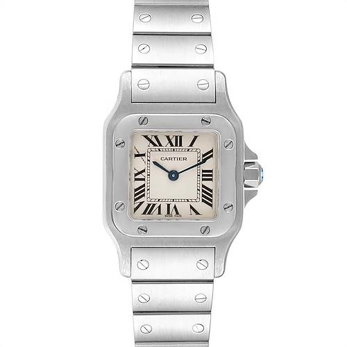 Photo of Cartier Santos Galbee Small Steel Ladies Watch W20056D6