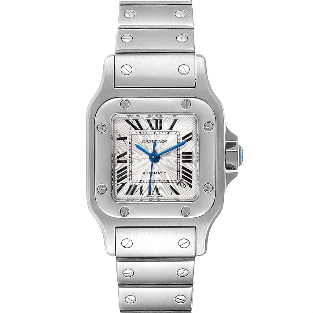 Cartier Santos Galbee Ladies Automatic Steel Ladies Watch W20044D6 SwissWatchExpo