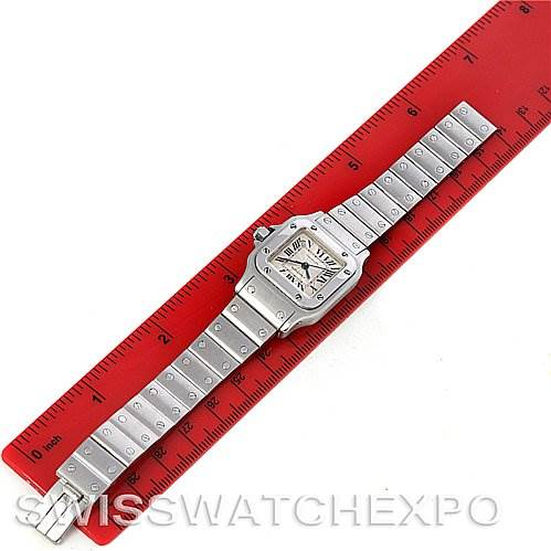 4244 Cartier Santos Galbee Ladies Stainless Steel Automatic Watch W20054D6 SwissWatchExpo