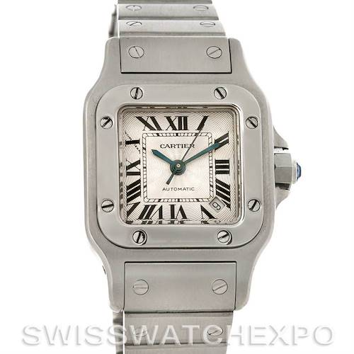 Photo of Cartier Santos Galbee Ladies Stainless Steel Automatic Watch W20054D6