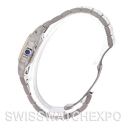 4727 Cartier Santos Small Steel 18K Yellow Gold Watch W20057C4 SwissWatchExpo