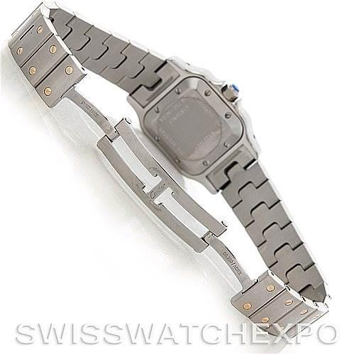 5169 Cartier Santos Ladies Steel 18K Yellow Gold W20045C4 Watch SwissWatchExpo