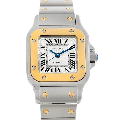 Photo of Cartier Santos Ladies Steel 18K Yellow Gold W20045C4 Watch