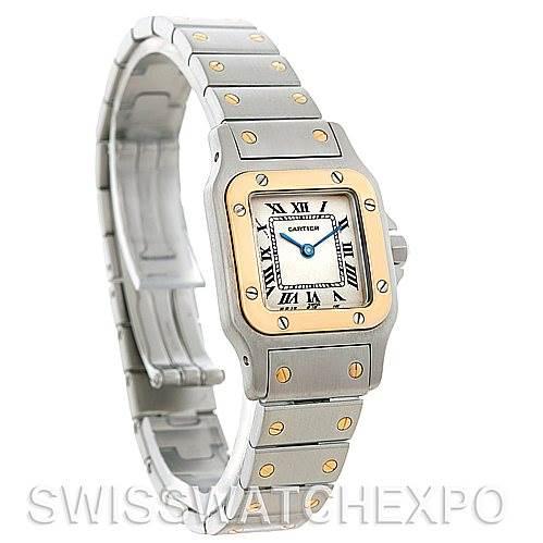 5145 Cartier Santos Ladies Steel 18K Yellow Gold W20012C4 Watch SwissWatchExpo