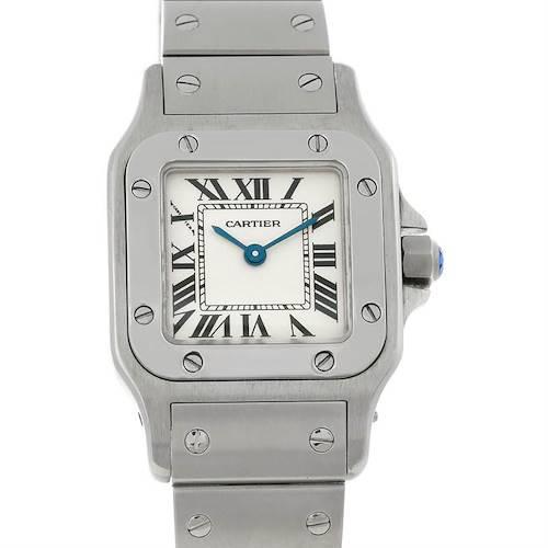 Photo of Cartier Santos Galbee Ladies Steel Quartz Watch W20056D6