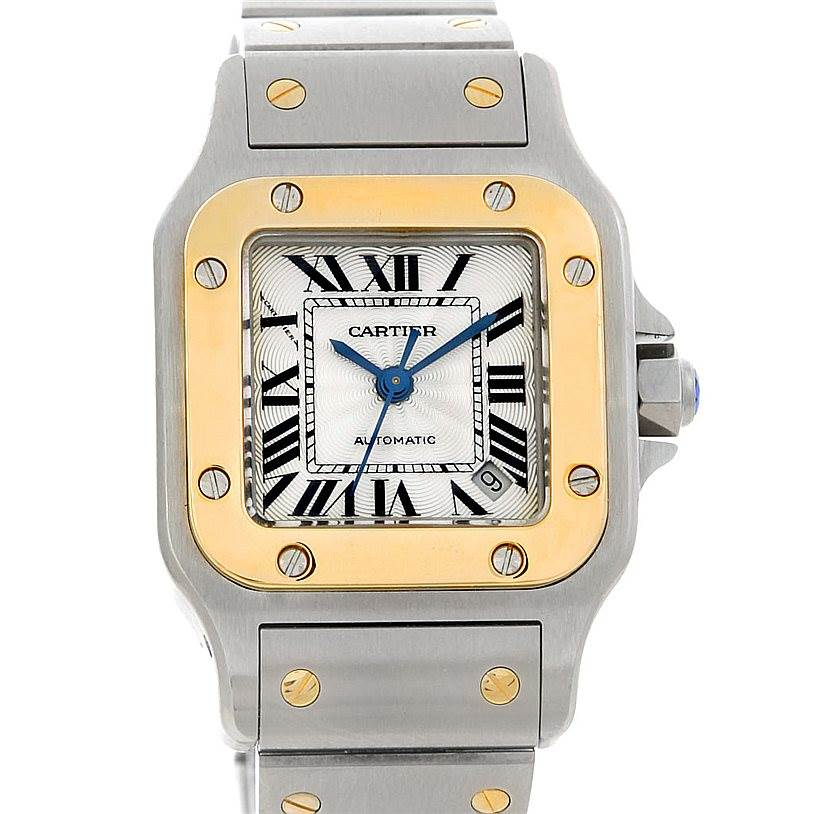 5223 Cartier Santos Ladies Steel 18K Yellow Gold W20045C4 Watch SwissWatchExpo