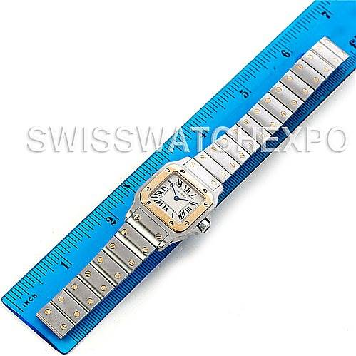 5237 Cartier Santos Ladies Steel 18K Yellow Gold W20012C4 Watch SwissWatchExpo