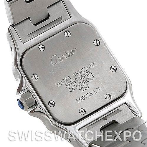 5237 Cartier Santos Ladies Steel 18K Yellow Gold W20012C4 Watch SwissWatchExpo
