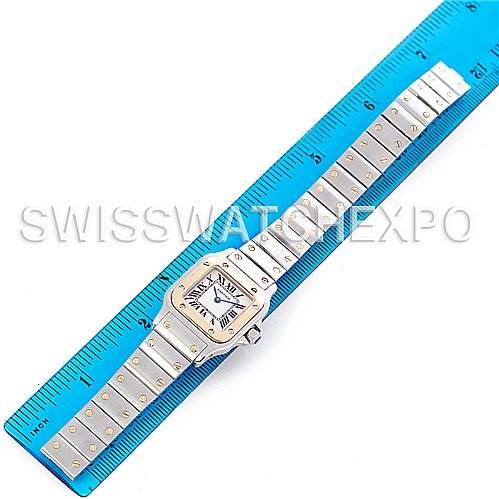 5274 Cartier Santos Ladies Steel 18K Yellow Gold W20012C4 Watch SwissWatchExpo