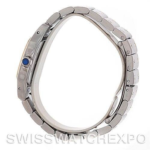 5342 Cartier Santos Ladies Steel 18K Yellow Gold W20012C4 Watch SwissWatchExpo