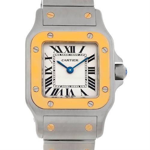 Photo of Cartier Santos Ladies Steel 18K Yellow Gold W20012C4 Watch