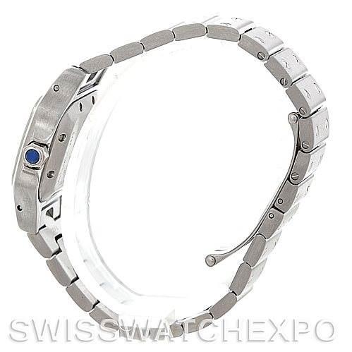 5645 Cartier Santos Galbee Ladies Steel Automatic Watch W20054D6 SwissWatchExpo