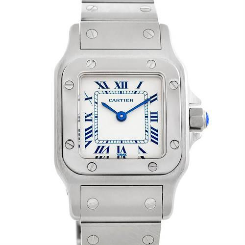 Photo of Cartier Santos Galbee Ladies Steel Quartz Watch 1565