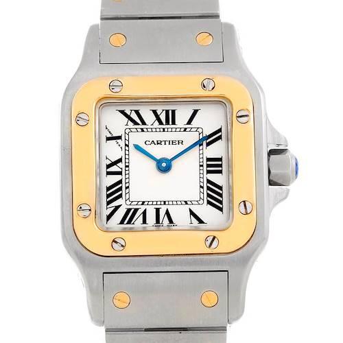 Photo of Cartier Santos Galbee Ladies Steel 18K Yellow Gold Watch W20012C4