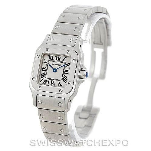 6209 Cartier Santos Galbee Ladies Steel Quartz Watch W20056D6  SwissWatchExpo