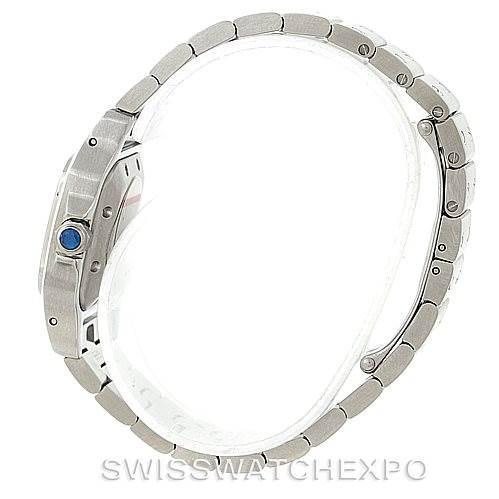 7693 Cartier Santos Galbee Small Steel Automatic Watch W20054D6 Unworn SwissWatchExpo