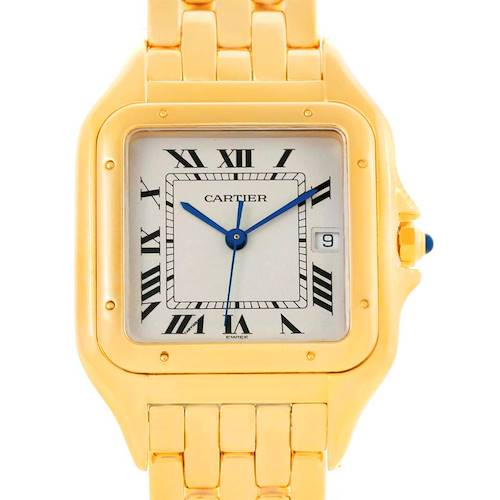 Photo of Cartier Panthere Date XL 18K Yellow Gold Watch W25014B9