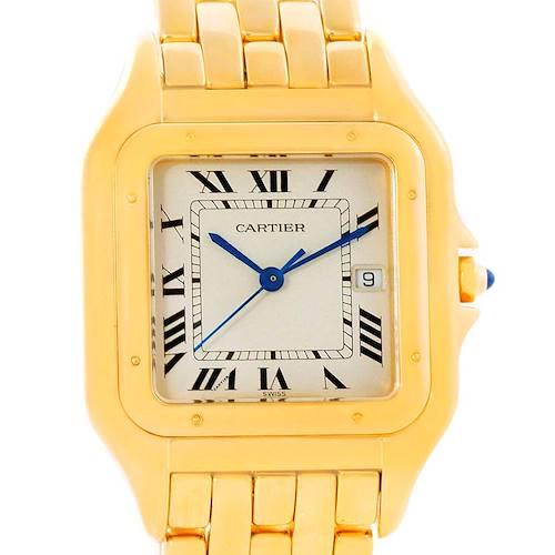 Photo of Cartier Panthere Jumbo 18K Yellow Gold Date Watch W25014B9