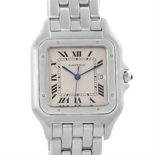 Photo of Cartier Panthere Jumbo Stainless Steel Date Watch W25032P5