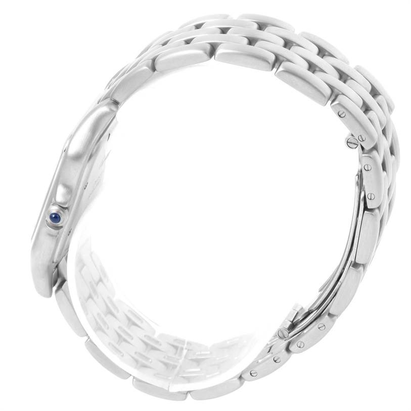 Cartier Panthere Jumbo Stainless Stainless Steel Date Watch W25032P5 SwissWatchExpo