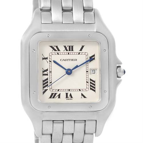 Photo of Cartier Panthere Jumbo Stainless Stainless Steel Date Watch W25032P5